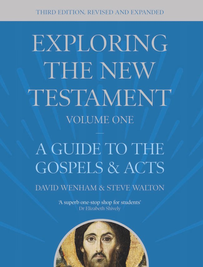 Exploring the New Testament Vol 1 Book Cover