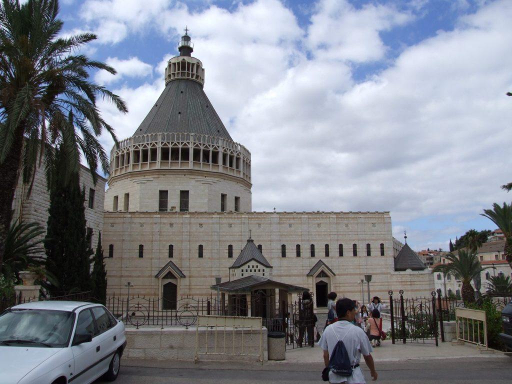 1. Nazareth basilica exterior