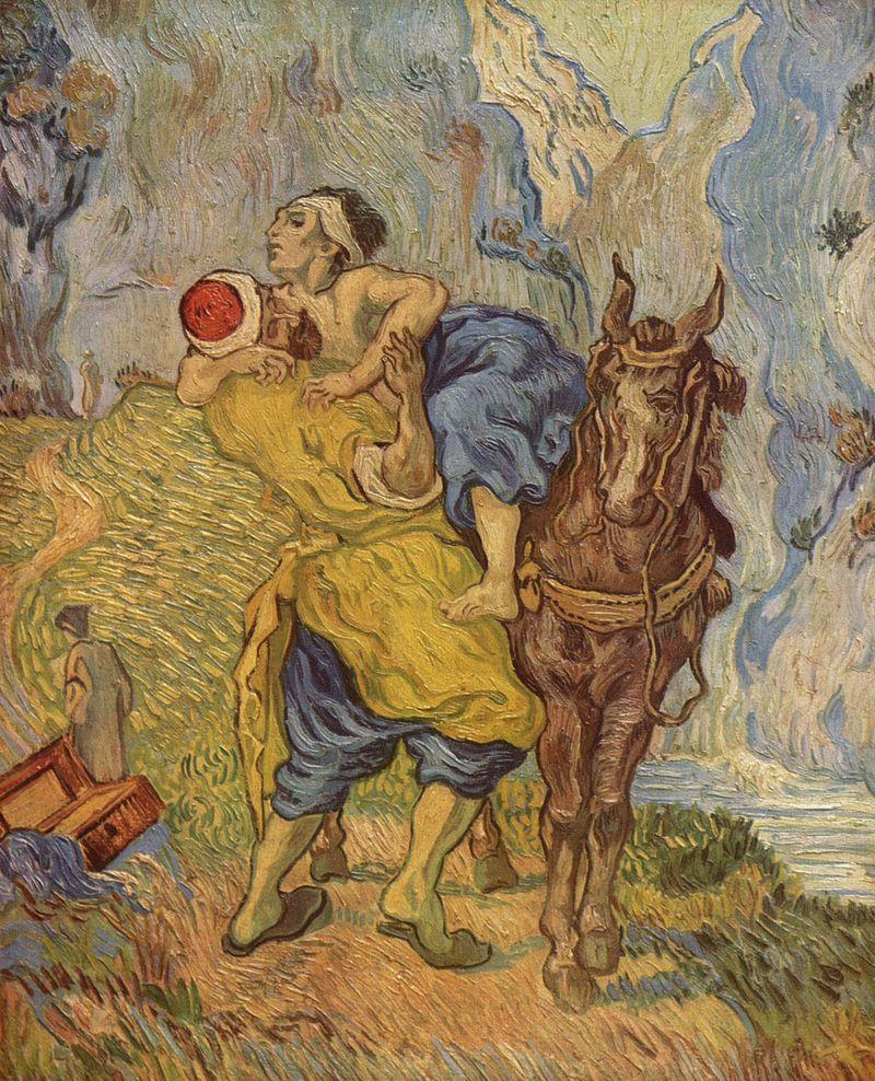 The Good Samaritan, Vincent van Gogh (1890)