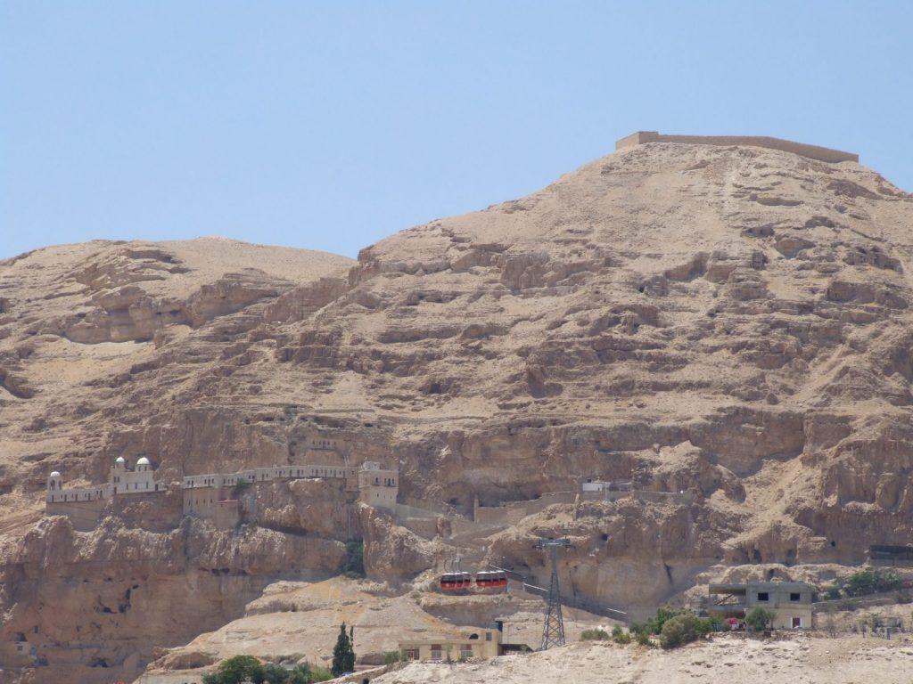 Mt Temptation & monastery