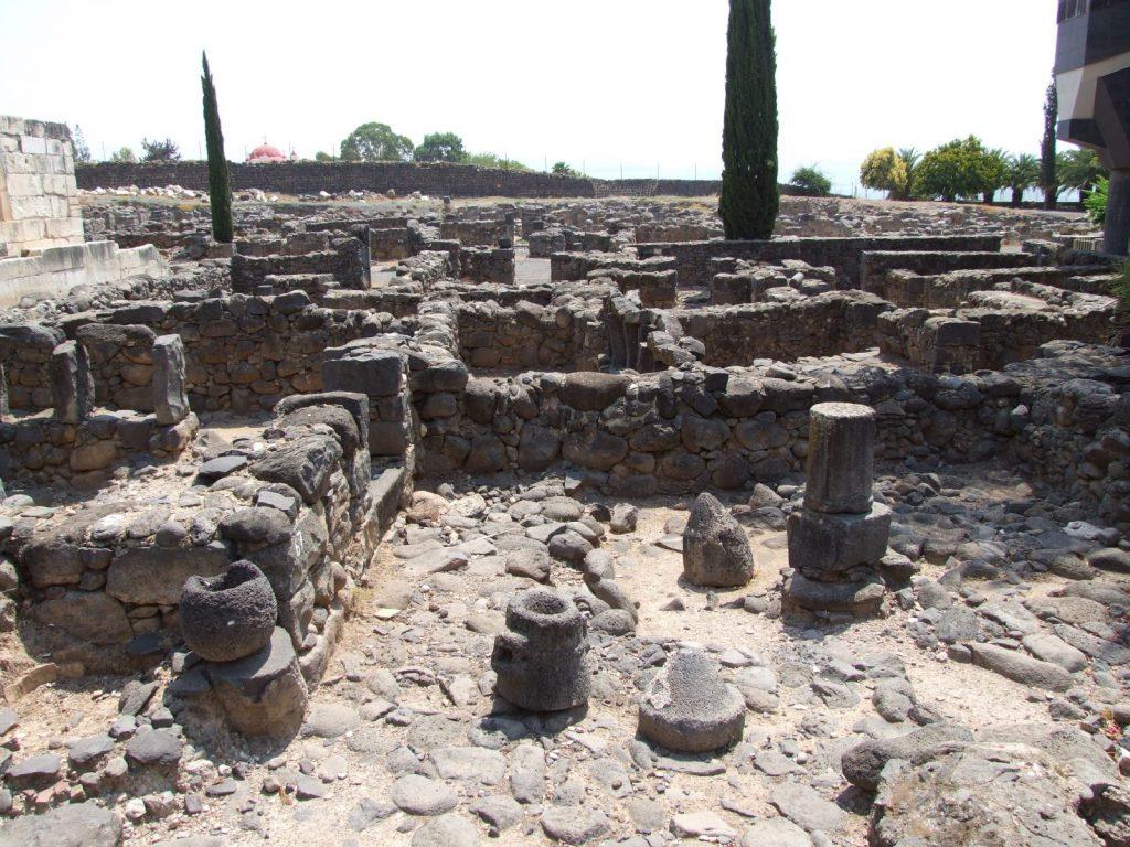 Capernaum 'insula' houses