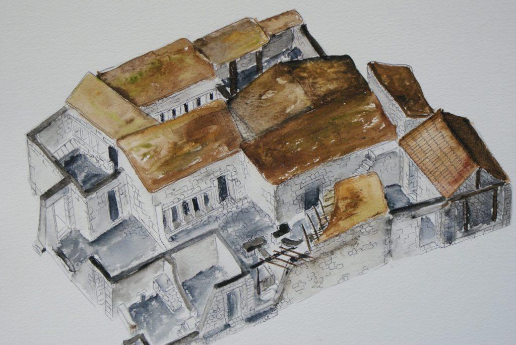 Capernaum houses (artist)