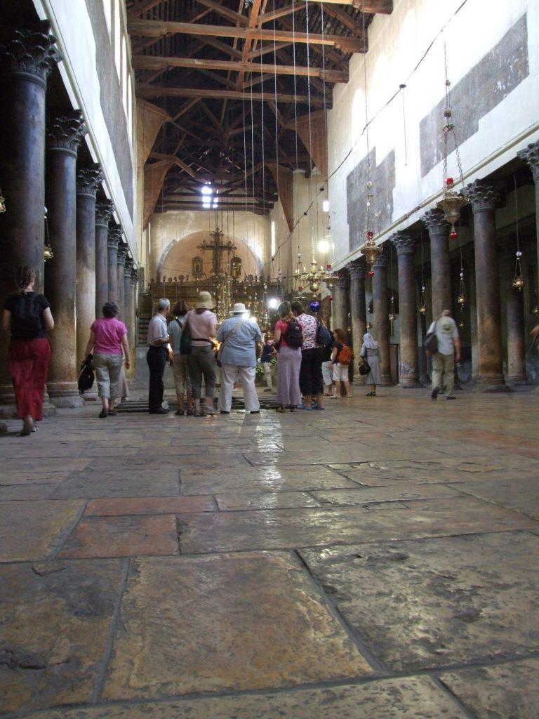 3. Church of nativity interior