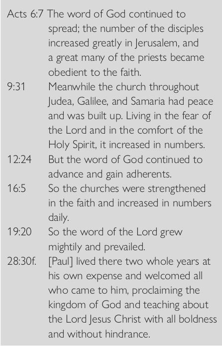 318 Acts summary passages