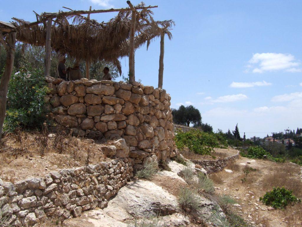 'Nazareth Village' watchtower (Mark 12.1)
