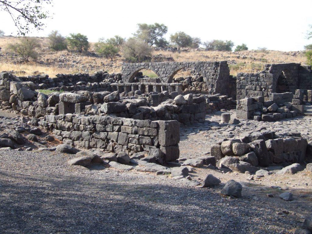 Korazin ruins