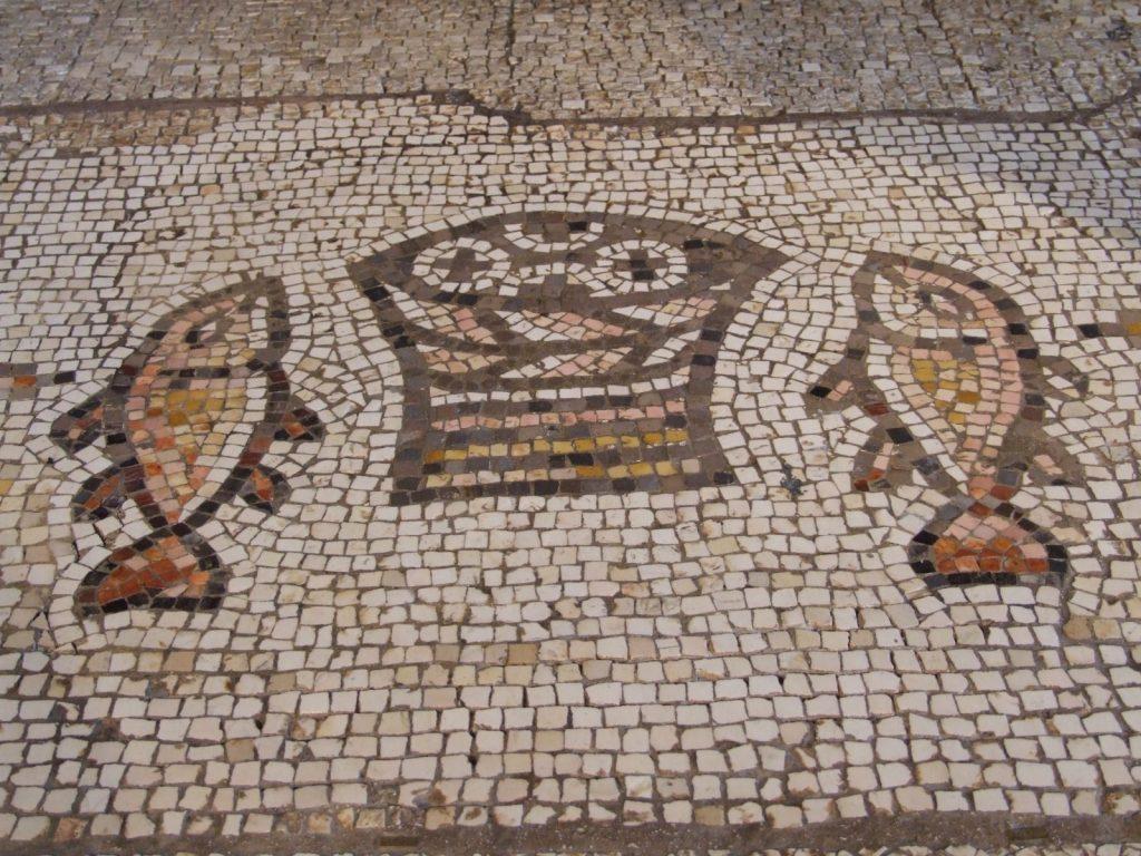 Loaves & fish mosaic