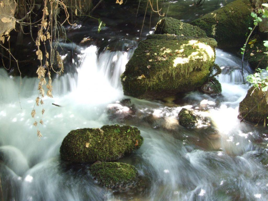 The river Jordan at Banias waterfall