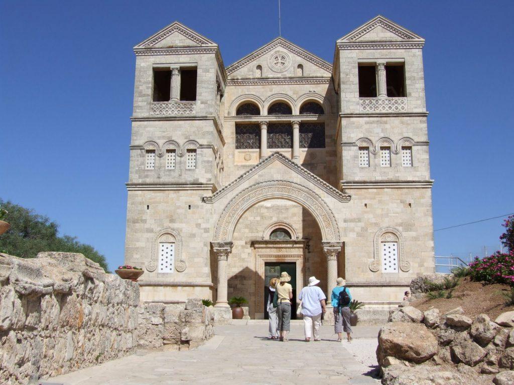 Mt Tabor, the Catholic basilica