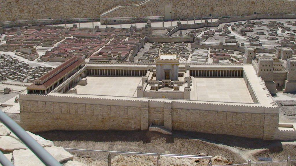 Model of Herod's temple 2