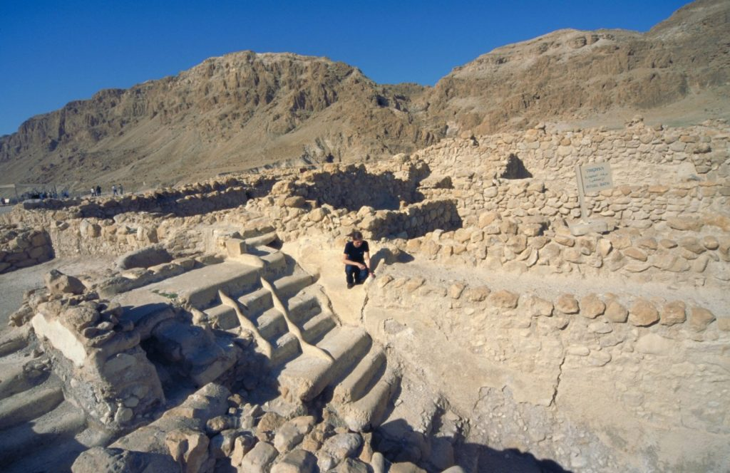 Qumran, Mikveh (for ritual washing)