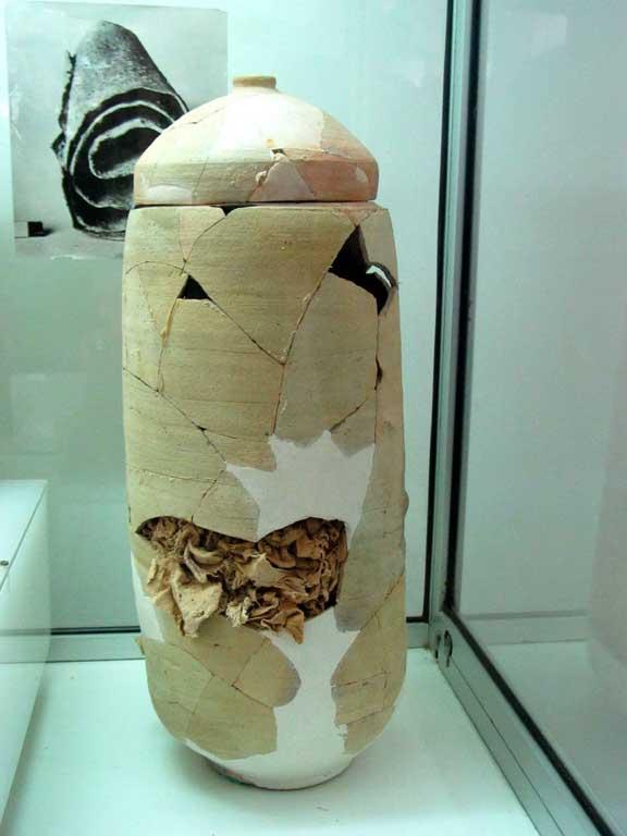 Qumran 1279 scroll jar